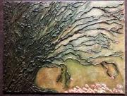 tableau nature morte glue gun art abstrait nature : Arbre mort