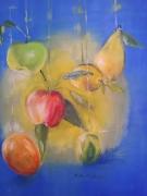 tableau fruits tableau peinture huile signe nature morte : Les Fruits
