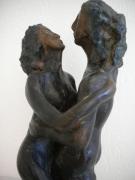 sculpture nus amour couple amant : VOLUPTÉ