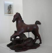 sculpture poulain chevaux sculpture criniere : EVASION