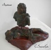 sculpture abstrait mer amoureux amour filet : NEPTUNE