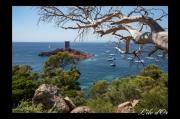 photo paysages mer mediterranee esterel var : Massif de l'Estérel