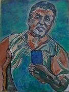 tableau personnages : Le selfie  de star