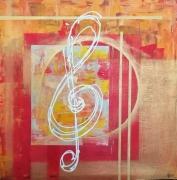 tableau autres musique cle de sol : Musique
