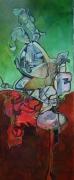 painting abstrait : le passeur
