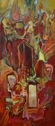 painting abstrait : sans titre