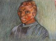 dessin personnages alpes maritimes biot van gogh : portrait