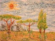 tableau paysages ruines paysage imaginaire : passion légere