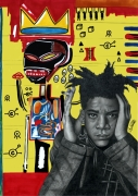dessin personnages dessin portrait basquiat jeanmichel basquiat : Jean-Michel Basquiat