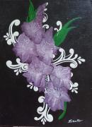 tableau fleurs : Glaïeuls