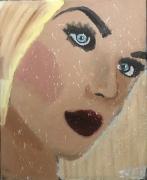 tableau personnages blonde femme femme blonde jayfray : femme blonde