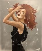 tableau femme rousse rousse jayfray : rousse