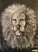 tableau animaux lion le lion lion blanc : le lion