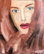tableau personnages rousse blanche cheveux jayfray : rousse blanche