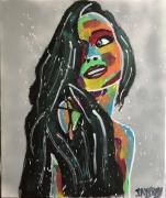 tableau personnages femme couleur mignionne jeune jayfray : la mignionne