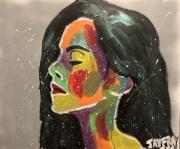 tableau personnages femme couleur femme blesser femme jayfray : la blesser