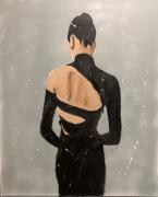 tableau personnages danseuse de dos danseuse de dos : danseuse de dos