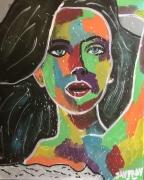 tableau personnages scarlet femme couleur femme jayfray : scarlet