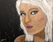 tableau personnages femme blonde blonde jayfray : blonde