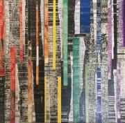 mixte abstrait pride couleurs collage abstrait : Pride
