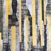 mixte abstrait couleurs jaune yellow abstrait : Jaune
