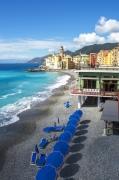 photo paysages photographie italie mer plage : Camogli en Italie