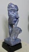 sculpture personnages sculpture design moderne visage : chut
