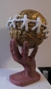 sculpture autres symbolique ecologie futur : si tous les gars du monde