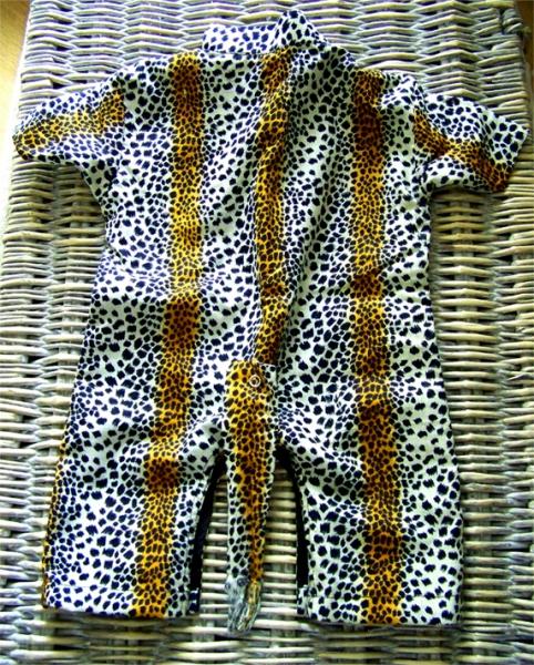 ART TEXTILE, MODE tigre savane enfant vêtement Animaux  - Combinaison sauvage (2)