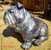 sculpture animaux animaux chien bouledogue : Bill Dog