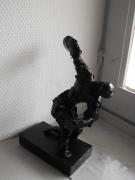 sculpture sport sport lanceur de disque : LANCEUR DE DISQUE