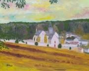 tableau paysages france eure paysage campagne : Lyons la Forêt (Eure)