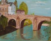 tableau architecture france valdoise pont architecture : Pont du Cabouillet a l'isle-adam (Val-d'Oise)
