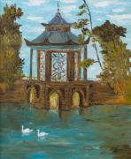 tableau architecture pavillon parc : PAVILLON CHINOIS DE CASSAN