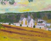 tableau paysages paysage campagne : LYONS-LA-FORÊT