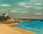 tableau marine plage bretagne cotes darmor : CÔTES D'ARMOR