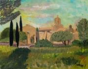 tableau architecture france var chapelle architecture : Chapelle provencale de Pépiole (Var)