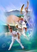 photo sport cesta punta main nue pelote joueurs : Tableau peinture Reproduction image d'art Creation  Ydan Af
