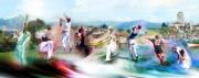 tableau autres panorama sports sud ouest ydan sarciat : Image art reproduction ydan sarciat peinture huile aaquarelle n