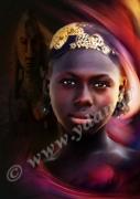 autres personnages visage mali malienne turban : REPRODUCTON ART IMAGE VISAGE AFRIQUE REGARD MALIEN