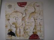 tableau personnages strasbourg peinture acrylique les brumes : les brumes