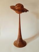 marquetry autres bois tourne wood deco sculpture : Du bout du doigt