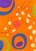 tableau animaux girafe animaux enfants cadeaux : Décontract!