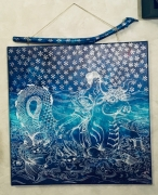 tableau marine japon diaries mythologie : Néréide II