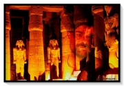 photo architecture nuit monument homme egypte : LOUXOR NIGHT