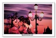 photo personnages venise carnaval crepuscule amour : VENEZIA Viola Amore
