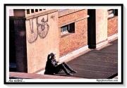 photo villes repos terrasse soleil confinement : Au soleil...