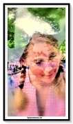 photo personnages pays bas fermiere ville rose : HAARLEM YOUNG GIRL