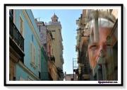 photo villes rue cuba femme vintage : LA HABANA 1 CUBA