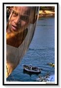 photo personnages garÇon nil voile fleuve : FELOUQUE BOY